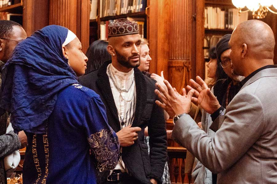 Muslims in Brooklyn listening party