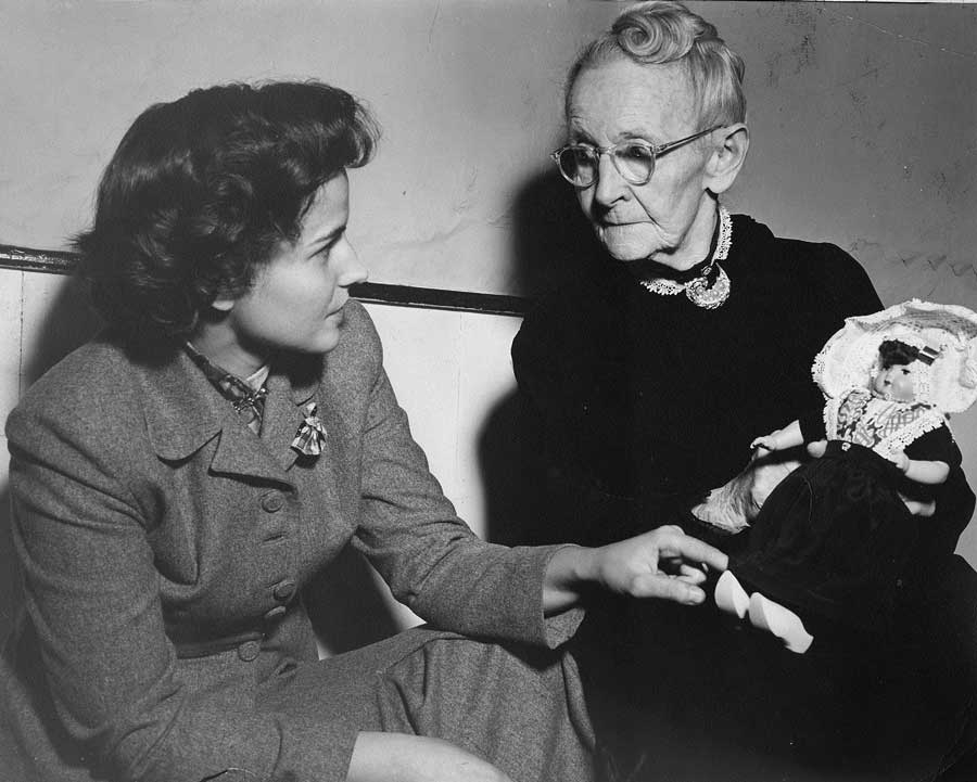 Sheila and Grandma Moses