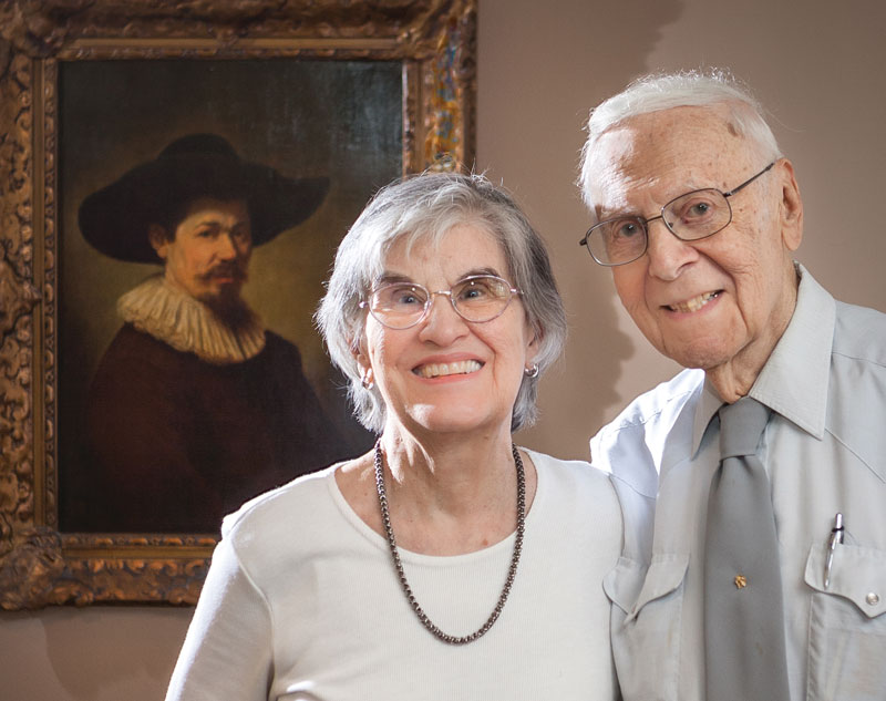 Lita and Wally Elvers.